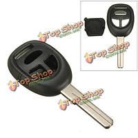 3 кнопки дистанционного брелока оболочки ж/пустой запасные лезвия для Saab 9-3 9-5