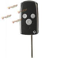 3 кнопки дистанционного черный флип ключевых оболочка для Honda Jazz CRV одиссеи гражданского согласия