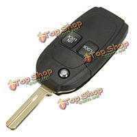 Автомобиль дистанционного флип ключ крышка корпуса фоб 2 кнопки для Volvo
