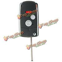 Кнопки 3/2+panic щелкают случаем раковины складной автомобильный ключ с дистанционным управлением для Хонды