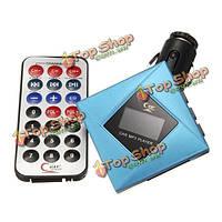 ЖК автомобильный комплект MP3 плеер FM модулятор передатчика USB TF SD + дистанционный