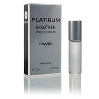 Масляный мини парфюм Chanel Egoiste Platinum (Шанель Эгоист Платинум), 7мл