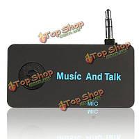 Беспроводная связь Bluetooth 3.5 мм разъем AUX складка аудио стерео музыка получить адаптер микрофон