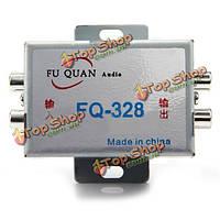 Кт-328 аудио фильтр автомобильный сабвуфер и усилитель Audio подавитель шумов фильтр