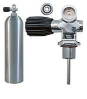Баллон для дайвинга алюминиевый S 80 (11.1 л) 207 Bar, серебристый
