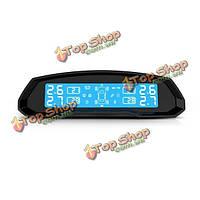 T802 автомобильных шин Система контроля давления 4 внешний датчик Режим соединения солнечного Mini-USB
