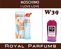 Духи Royal Parfums (рояль парфумс)Moschino I love love(ай лав лав) 50 мл №39