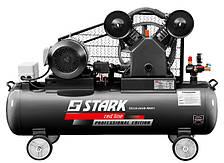 Компрессор Stark 55110-SAVB Profi ременной (4 кВт, 110 л, 600 л/мин, 3-ф)