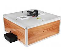Инкубатор для птиц Курочка Ряба 120 яиц: автоматический переворот, точность 0,5 °C, 36 Вт, пенопласт