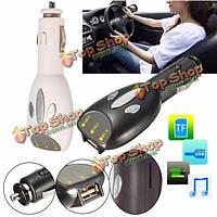 Автомобиль авто аудио AUX MP3 плеер FM передатчик модулятор Micro SD TF USB зарядное устройство