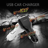Jc17 универсальный 5а 3USB автомобильное зарядное устройство FAST зарядное устройство для мобильного телефона