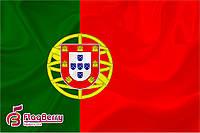 Флаг Португалии 80*120 см., искуственный шелк
