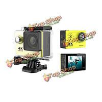 Eken H9 Wi-Fi камера действий спорта DV Автомобильный видеорегистратор 4k Ultra HD spca6350 HDMI 2-дюймов ЖК без зарядного устройства