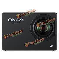 Okaa v2 действие камеры спорта Видеорегистратор 4k 16 миллионов пикселей 2.0-дюймов сенсорный экран