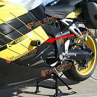 Углеродного волокна стиле не вырезать кадр слайдеры краш протектор для Suzuki