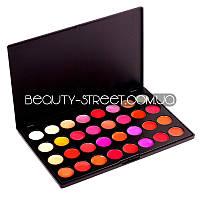 Профессиональная палетка помад для макияжа MAC 32 colors