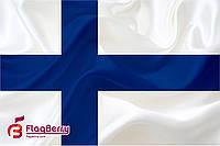 Флаг Финляндии 80*120 см., искуственный шелк