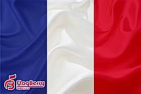 Флаг Франции 80*120 см., искуственный шелк