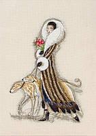 """Набор для вышивания """"Роковая женщина (Femme Fatale)"""" ANCHOR MAIA (снят с производства)"""