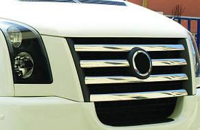 Накладки на решетку радиатора VW Crafter (2006-2011)