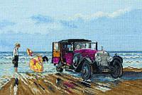 "Набор для вышивания ""Винтажный Rolls-Royce на пляже (Vintage Rolls on the Beach)"" ANCHOR"
