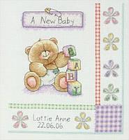 """Набор для вышивания """"День рождения (Birth Record)"""" ANCHOR"""