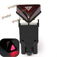 Темно-красный выключателя аварийной сигнализации Кнопка для VW VOLKSWAGEN JETTA гольф MK5 18G 953 509