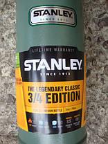 Термос STANLEY Classic Hertiage 0,75 L - Зеленый (10-01612-009), фото 2