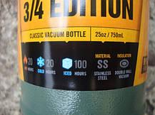 Термос STANLEY Classic Hertiage 0,75 L - Зеленый (10-01612-009), фото 3