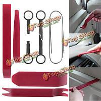 10штв1 комплекте автомобильный радиоприемник аудио стерео интерьер DVD CD инструмент для удаления ремонта панели