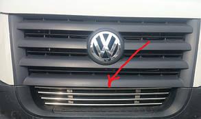 Хром решётка в бампер Volkswagen Crafter