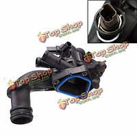 Корпус охлаждающей жидкости двигателя термостат для BMW Mini Cooper 07-13 1.6l-l4 11537534521x