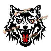 Набор личности автомобиля стиль работы волк тотем всего тела ПВХ стикер