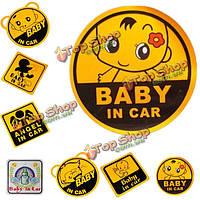 Прекрасный милый ребенок DIY персонализированные наклейки автомобиль безопасности