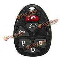 6 BNT ключа дистанционный ключ кликер ФОБ и чип для Chevrolet GMC Cadillac
