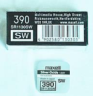 Батарейка Maxell SR1130SW B1 (390)