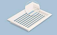 Вентиляционная решетка однорядная переточная