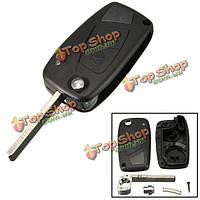 Замена 2 кнопка дистанционного ключа ФОБ Корпус для Citroën реле ван клинка