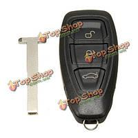 3 кнопки дистанционного ключа ФОБ чехол для Ford Mondeo фиеста фокус титана
