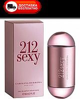 Женская парфюмированная вода CAROLINA HERRERA 212 SEXY EDP 60 ML