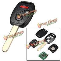 3 Кнопка режиссерский пульт передатчик ключ дистанционный ключ автомобиль брелок для Honda mlbhlik-1Т