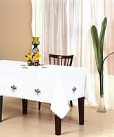 Скатерть KAYAOGLU Olive 160х220 кремовая