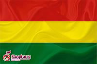 Флаг Боливии 80*120 см., искуственный шелк