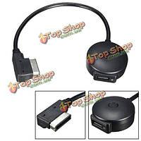 Машина беспроводной Bluetooth v4.0 музыка Жгут проводов адаптера USB зарядное устройство для Audi VW