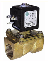 Клапан электромагнитный комбинированного действия 21H12KOB120 NC, Италия