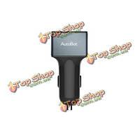 Автоботов Автомобильное зарядное устройство три порта USB быстрой зарядки с помощью переключателя 4.8а