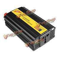 SGR-nx5012 автомобиль авто инвертор преобразователь адаптер 500Вт 12В в 220В модифицированная синусоида