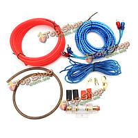 Держатель автомобильный усилитель сабвуфер аудио усилитель электропроводка комплект предохранителей жильный кабель 1500w 8GA