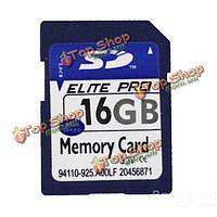 16Гб SD карта памяти SDHC для автомобиля DVR спорт камера GPS