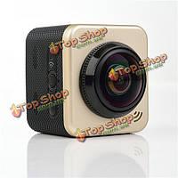 Cube 360s степень Wi-Fi спорт камера автомобиля DVR водонепроницаемый H.264